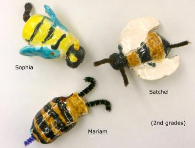 Satchel Sophia Miriam, bees