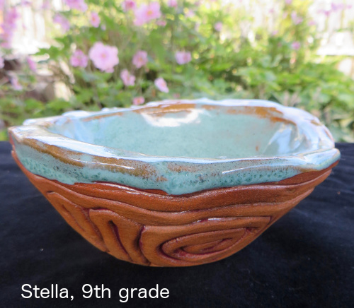 Stella coiling bowl