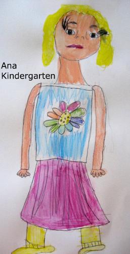 Ana Full Body portrait