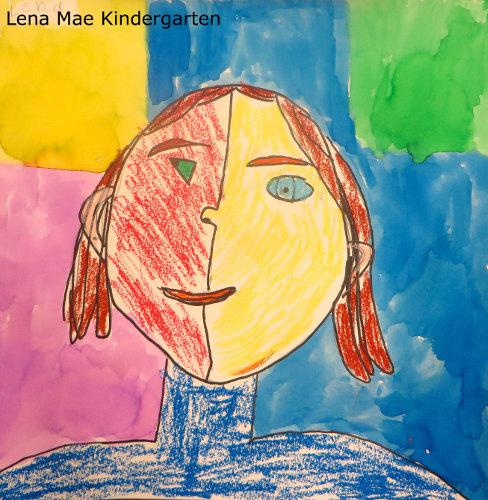 Lena Mae Picasso portrait