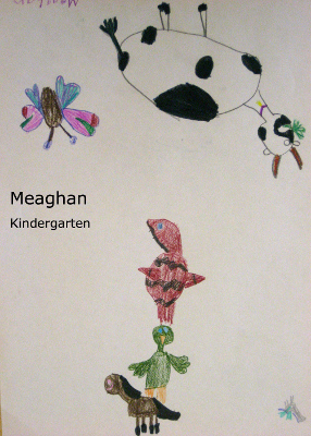 Meaghan stacked animals