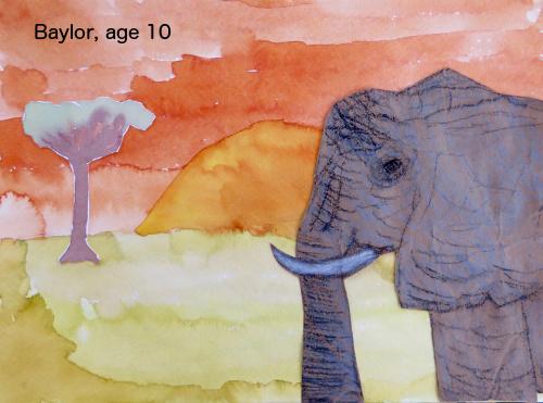 Baylor elephant