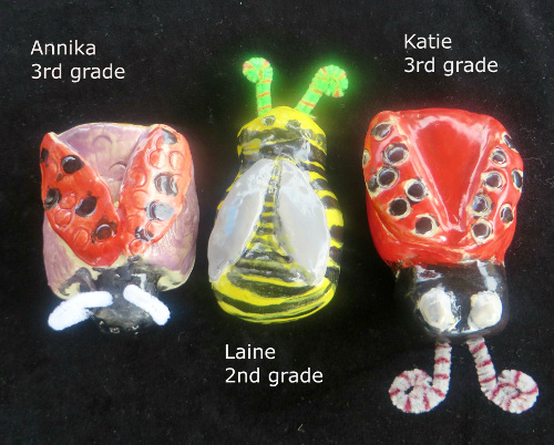 Clay insects 2015 Summer camp