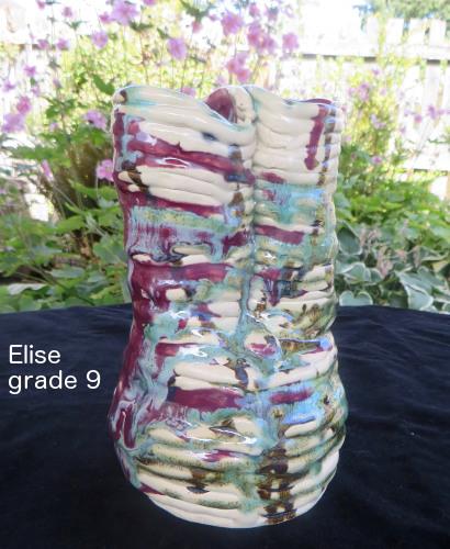 Elise ceramic vase for WS